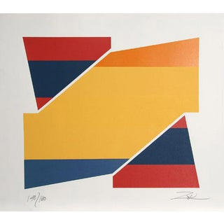 "1980 ""Rotation Ii"" Print by Larry Zox"