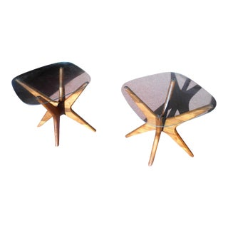 Adrian Pearsall for Craft Associates Jacks End Tables - A Pair