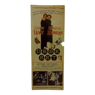 """Vintage """"Desk Set"""" 1957 Movie Poster"""