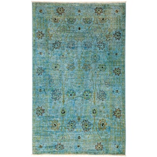 """Vibrance Hand Knotted Area Rug - 5'1"""" X 8'2"""""""