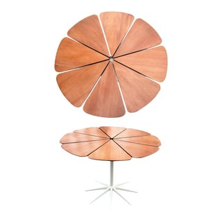 Richard Schultz for Knoll Mid-Century Redwood Petal Dining Table
