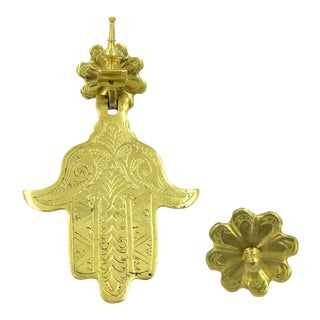 Large Hand of Fatima Door Knocker