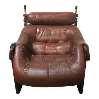 Percival Lafer Rosewood Lounge Chair
