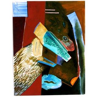 Vlasek Hails 'Color Crossing' Painting