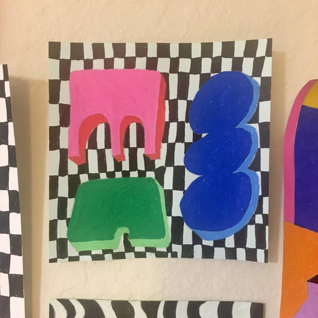 """""""Tiny"""" Expressionist Drawing - Image 2 of 3"""