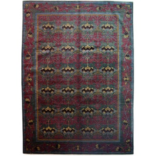 """Suzani Hand Knotted Area Rug - 10'0"""" X 13'10"""""""