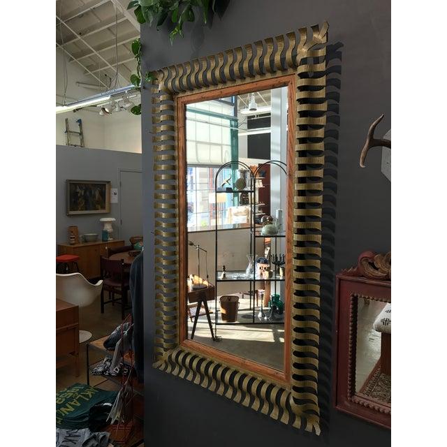 1960s Vintage Large Mirror - Image 2 of 5