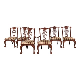 Ball & Clawfoot Dining Chairs - Set of 6