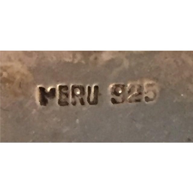 Vintage Sterling Peruvian Llama Pin - Image 4 of 4