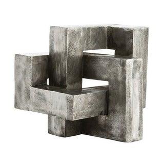 Modern Aluminum Knot Sculpture