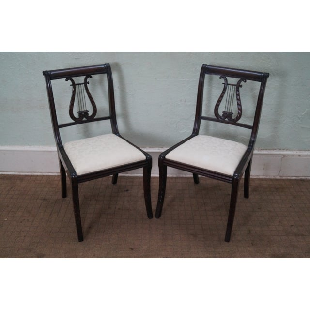 Schmieg/Kotzian Robert Whitley Dining Chairs - 12 - Image 2 of 10