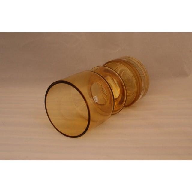 MCM Riihimaen Lasi Finland Art Glass Vase - Image 4 of 6