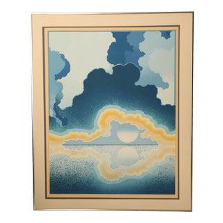 "Richard Gilbert ""Age of Grace"" Surrealist Serigraph Print"