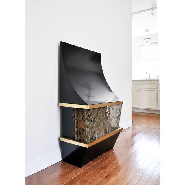 Mid Century Electric Fireplace Chairish