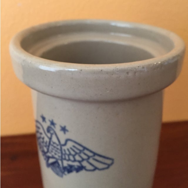 Vintage American Eagle Salt Glaze Crock - Image 5 of 9