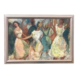 Dancers Oil Painting Grace Dimick