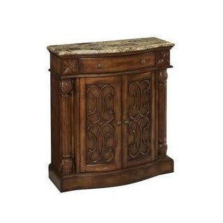 Stein World Marble Top Cabinet