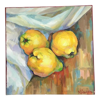 Quince Oil on Canvas Painting
