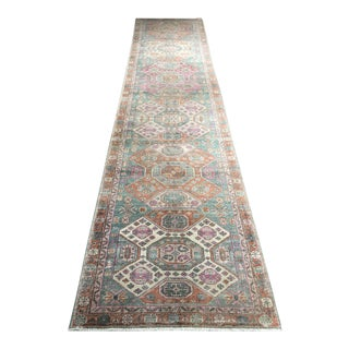 "Stunning Turkish Sivas Runner ""Norah"" - 3'2"" x 13'7"""