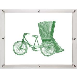 Mitchell Black Home Pedicab Art Installation