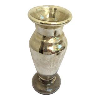 Authentic Antique Mercury Glass Vase