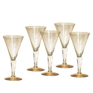 Dorothy C. Thorpe Champagne Flutes - Set of 5