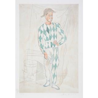 """Pablo Picasso, """"Arlequin en Pied,"""" Lithograph"""