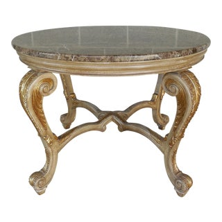 Regency Distressed Granite Top Console