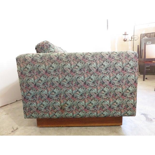 Mid-Century Milo Baughman Style Loveseat Sofa - Image 5 of 8