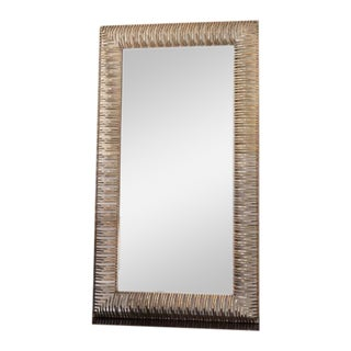 Hand Forged Plated Gold Mirror