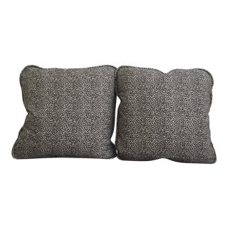 Custom Animal Print Pillows - A Pair