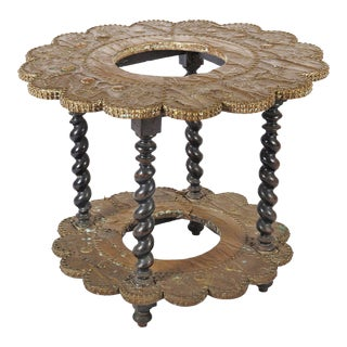 Antique side table in Renaissance style, 1880s