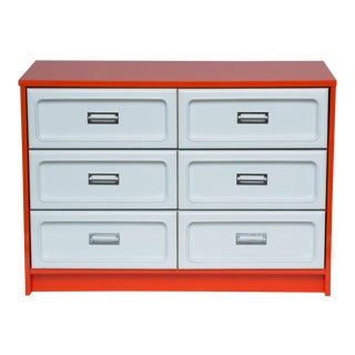 Basset Plastic Front Dresser in The Manner Of Raymond Loewy