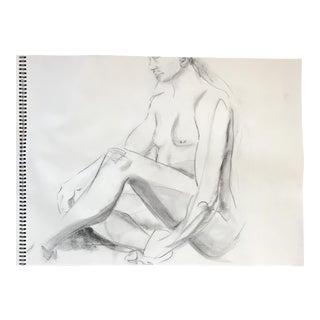 Seated Nude Drawing