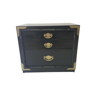 Huntley by Thomasville Lacquered Chest Side Table