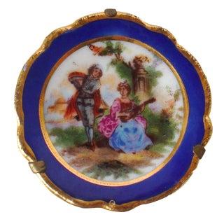 Limoges Miniature Lovers Plate