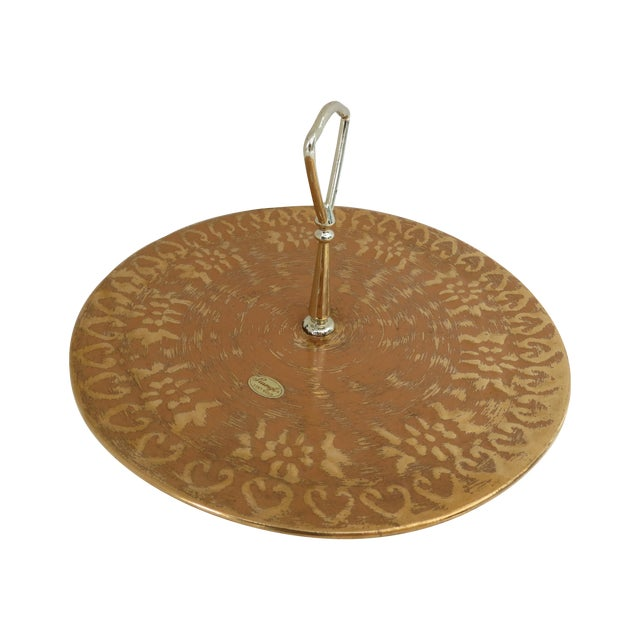 Stangl 22k Gold Serving Tray - Image 1 of 6