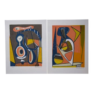 Portfolio of Leo Russell Abstractions, 1970s