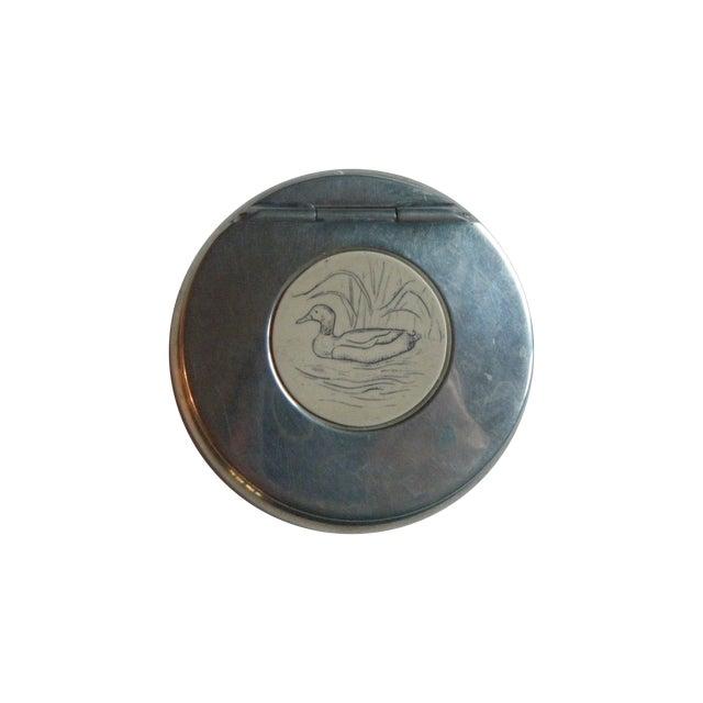 Image of Vintage Sheffield Pewter Trinket Box