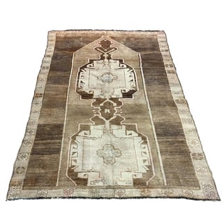 Turkish Oushak Rug - 6′6″ × 10′7″