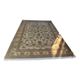 Safavieh Oversized Hand Knotted Wool and Silk Area Rug - 11′7″ × 17′8″