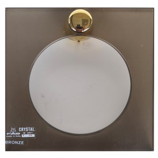 Crystal & Brass Towel Ring by Fontana Arte Italy