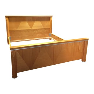 Rapport Giorgio Collection Wood & Metal Cal-King Bed Frame