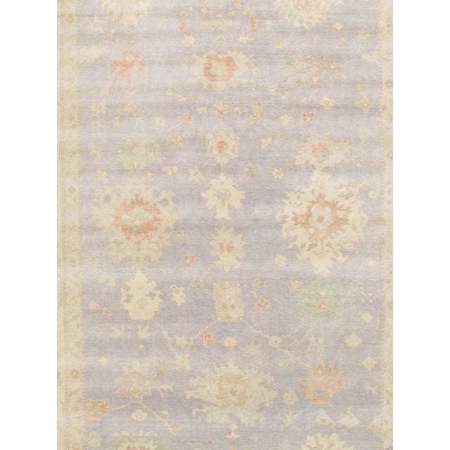 """Hand-Knotted Oushak Rug - 9'2"""" X 12'2"""" - Image 2 of 2"""