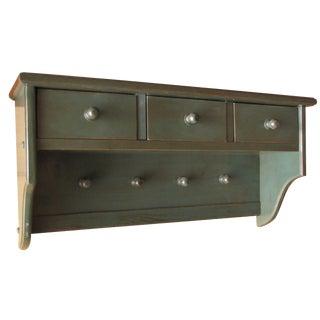 Rustic Entryway Shelf