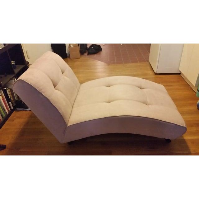 EQ3 Crush Velvet Chaise Lounge - Image 4 of 5