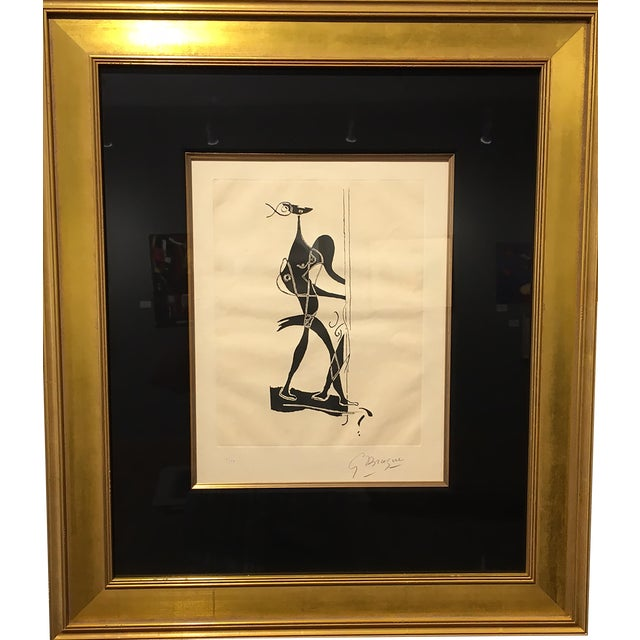 "George Braque ""Ajax"" Etching and Aquatint - Image 1 of 4"