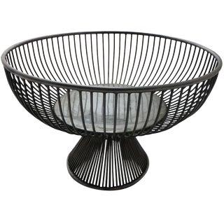Mid-Century Warren Platner Style Fruit Basket