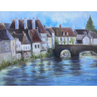 Small French Town Painting
