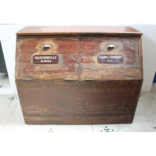 19th-C. French Flour Bin - Image 2 of 8